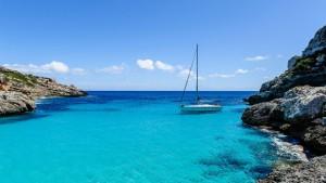 Sanjska plaža na Kanarskem otoku.