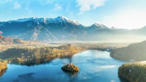 Bled najbolj obiskana izletniška točka v Sloveniji