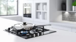 Plinska kuhalna plošča za pripravo zahtevnih jedi