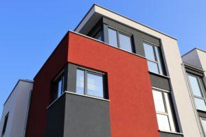 Moderna in funkcionalna fasada