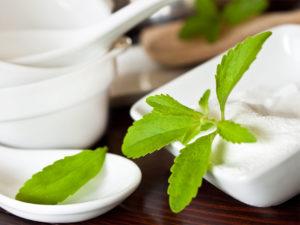 Stevia kot nadomestek belega sladkorja