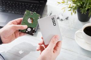 Kapaciteta pri ssd disku je izredno pomembna.